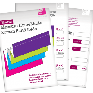 FREE Roman Shades and Roman Blinds measuring tool