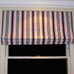 Roman Blind in a London Boys bedroom