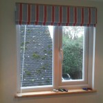 Roman Blind in a Surrey Boys Bedroom