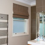 Roman Blinds in a London Bathroom