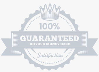 Roman Blinds money back guarantee