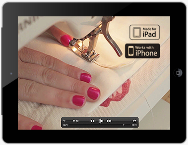 Learn to make Roman Shades and Roman Blinds from your iPad